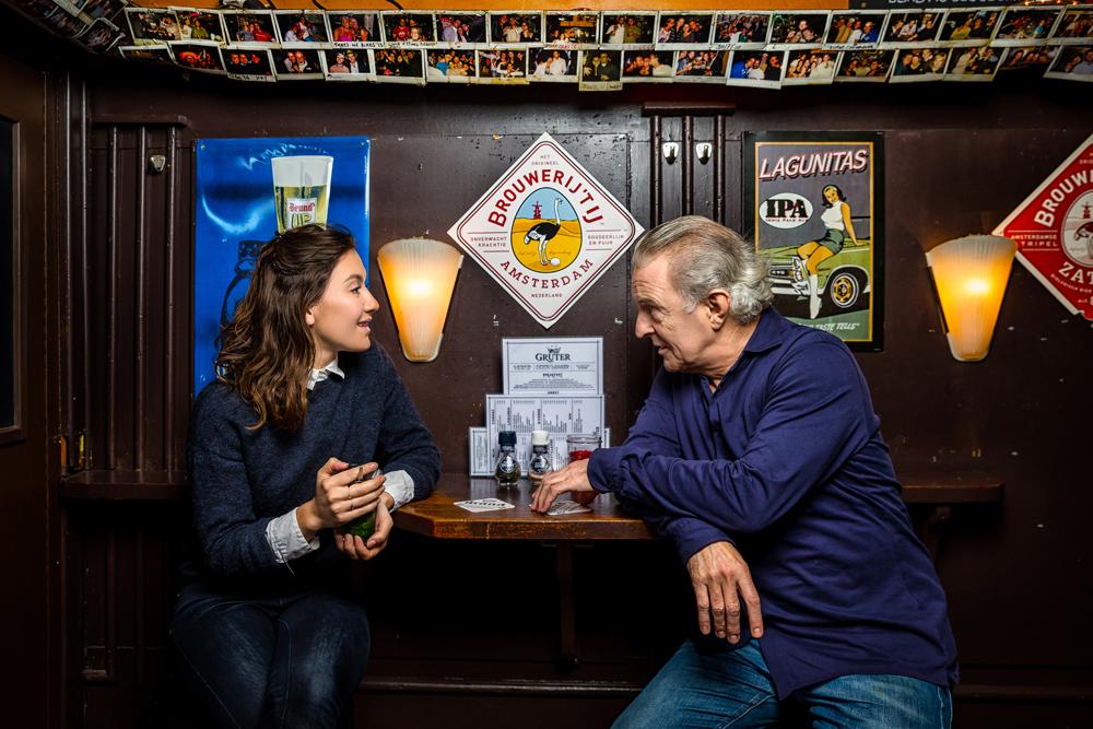 Huub Stapel en Anne van der Burg