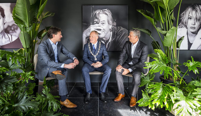 Interview Paul en Bert burgemeester